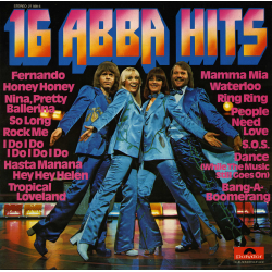 ABBA-16 ABBA Hits (Germany)