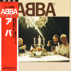 ABBA-ABBA (Japan-Red White Obi Band)